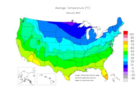 us weather map monthly averages monthly average temperature