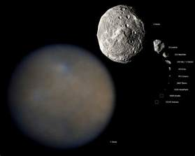 Target Solar Lights The Dwarf Planet Ceres Universe Today
