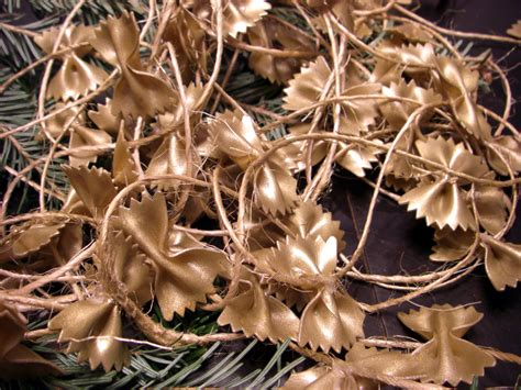 italian christmas tree decorations macaroni by carl d