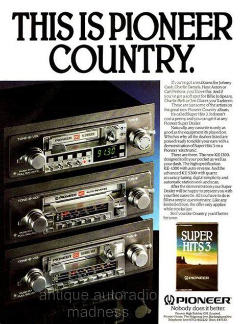 1980 1981 Audio Radios And Audio autoradios pioneer 1981