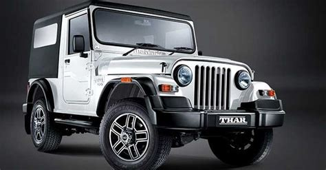 mahindra thar new launch mahindra to launch next generation thar in 2018 with 1 5l