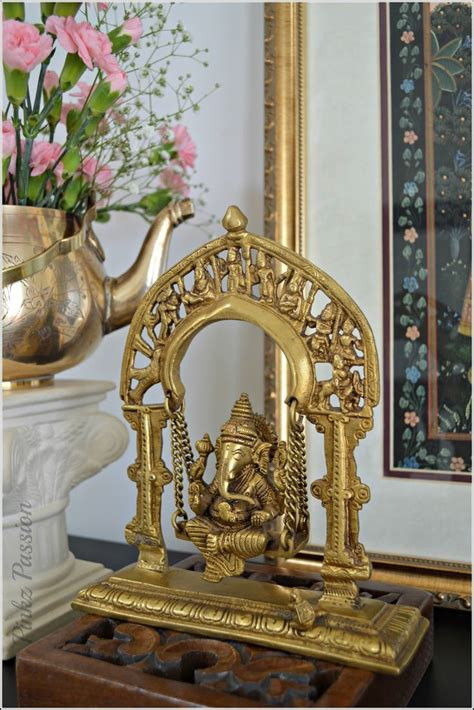 home decor from india swing ganesha spring d 233 cor front foyer indian d 233 cor