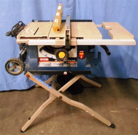 Ryobi 10 Portable Table Saw by Ryobi Bts21 Portable 10 Quot Table Saw Ebay