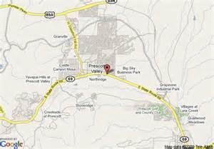 map of americas best value inn prescott valley prescott