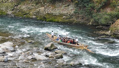 boat ride to japan kyoto travel hozugawa river cruise
