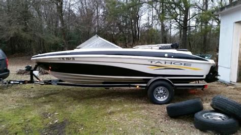 ebay tahoe boats for sale tahoe q6 boat excellent condition 2005 for sale for