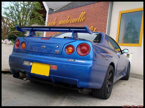 Skyline Pl 13678bsu 03 Blue nissan skyline r34