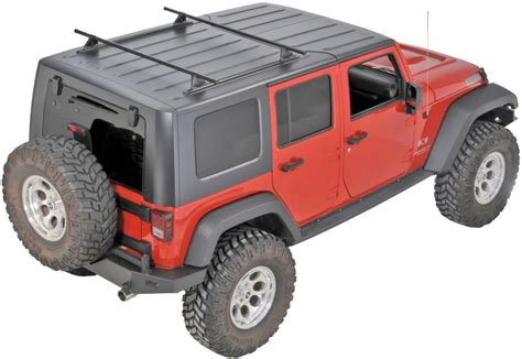 Jeep Wrangler Top Roof Rack yakima 8001616 yakima top roof track rack for 07 16