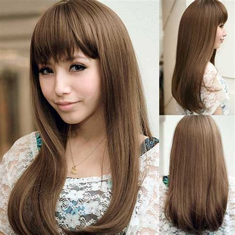 haircuts for japanese straightened hair hairstyle for girls with long hair long hairstyles 2016