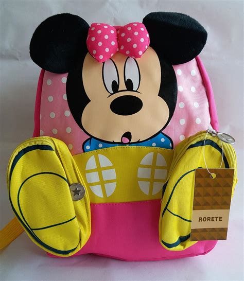 Tas Anak Mickey tas ransel anak model kartun mickey dan minnie mouse