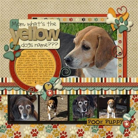 scrapbook layout ideas for pets 15948 best images about scrapbooking layouts on pinterest