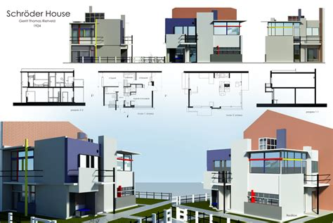 Architect House Plans schroder house by redilion on deviantart
