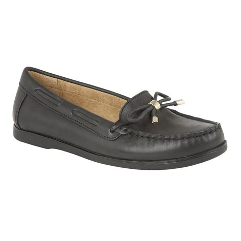 black loafers shoes naturalizer shoes hadlie black leather loafers shoes