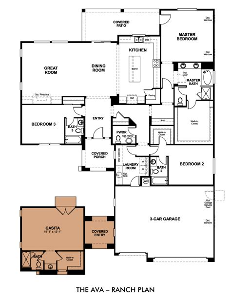 What Is A Great Room Floor Plan by Multi Generational Homes Finding A Home For The Whole Family