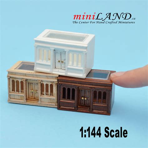 doll house scales 1 144 scale landygo store roombox dollhouse for dollhouse unfinished
