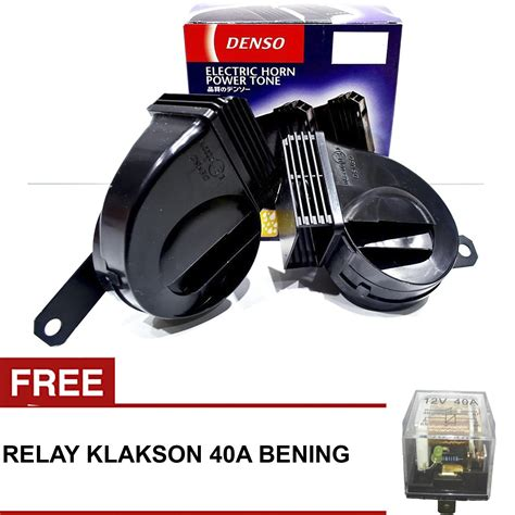 Klakson Denso Model Bulat denso tipe 272000 klakson keong 12v waterproof anti air