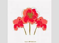 Watercolor poppy flower vector Vector | Free Vector ... H Alphabet Wallpaper Stylish