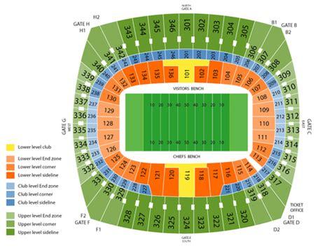 arrowhead stadium seating chart for kenny chesney kenny chesney live at arrowhead stadium