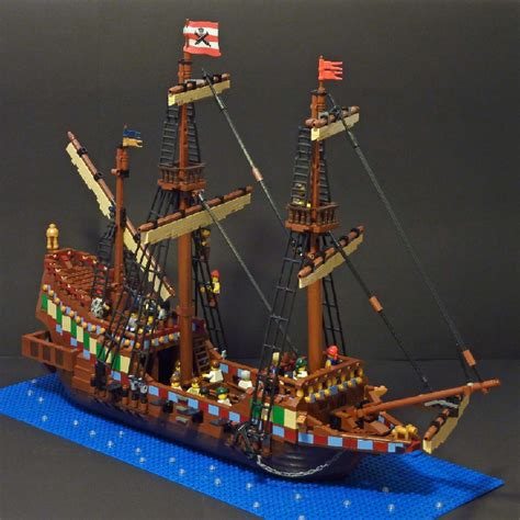 Lego Brick Wange Ship 040330 ships lego built by members of classicpirates piratesahoy