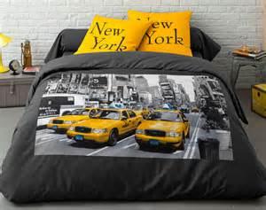 parure de lit d 233 cor new york 2 ou 3 pi 232 ces becquet