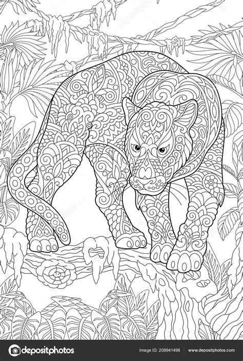 Panther Kleurplaten