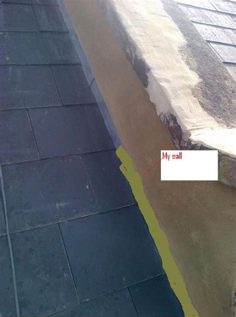 render a wall diy rendering on parapet walls but no flash cover diynot forums