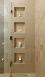 Bathroom Shower Shelves Niche Design