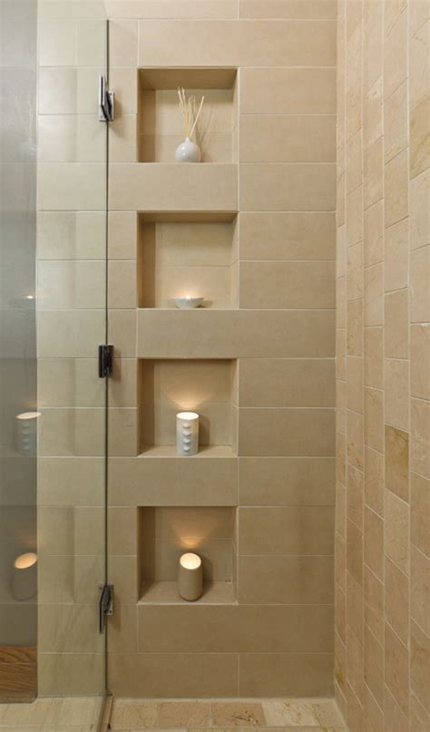 niche bathroom shower niche design