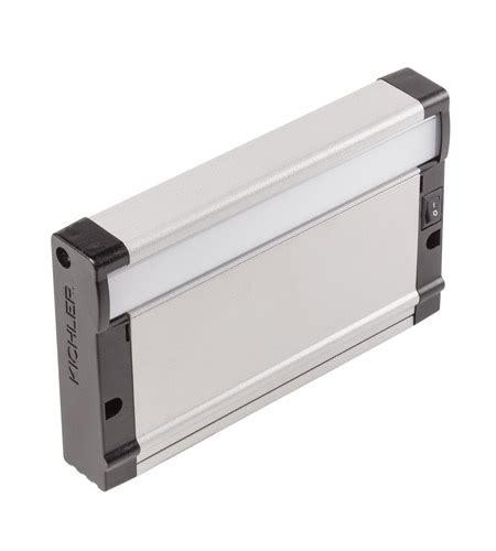 kichler led under cabinet lighting kichler 8u27kd07nit 8u series 7 inch nickel textured led
