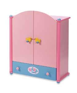 baby born wardrobe and changing table baby born wooden wardrobe