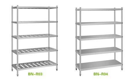 restaurant kitchen stainless steel shelves pantry racks