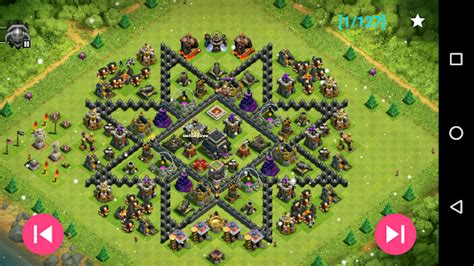 th9 layout strategy maps of coc th9 android apps on google play