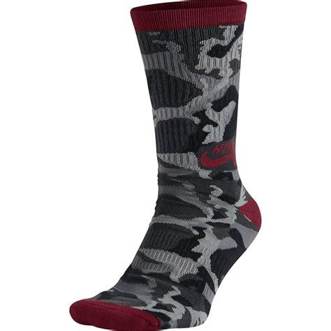Camo Socks nike camo skate crew socks