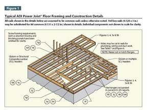how to frame a floor 74 best images about floor framing on the