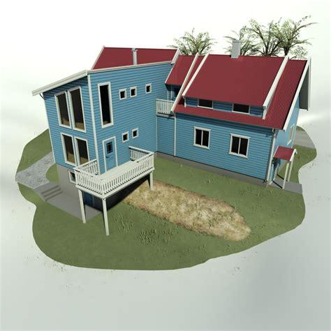 villa exterior 3d model 40 complete success clipgoo 3d model house architectural exterior
