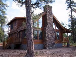 log cabin home in pine happy arizona the
