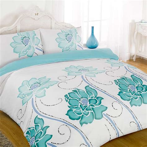 Teal Duvet Cover King Rowsham Duvet Cover Set Teal King Ebay