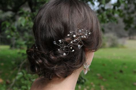 wire cone accessory for updos hairstyles on onewed