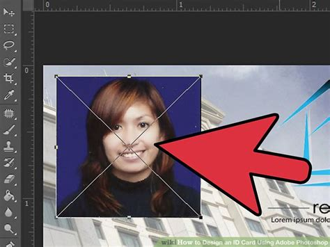 how to design id card in adobe photoshop how to design an id card using adobe photoshop 5 steps
