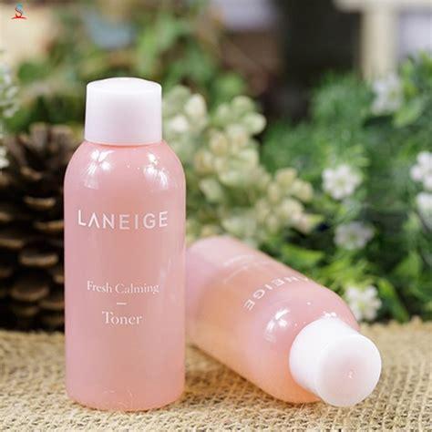 Laneige Fresh Calming Toner 50ml n豌盻嫩 hoa h盻渡g laneige fresh calming toner 50ml