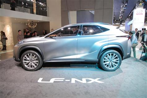 lexus lf nx lexus lf nx concept previews a production crossover model