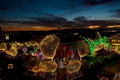 lights   ozarks brings festive glow  fayetteville