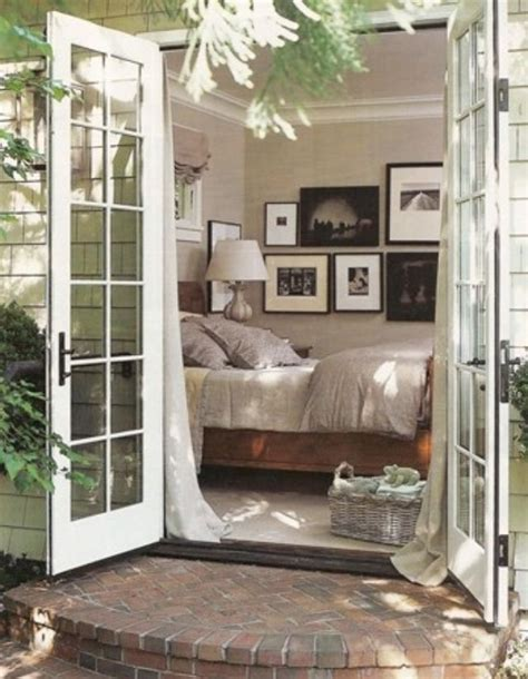 bedroom french doors bedroom sanctuaries pinterest