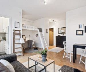 24 sq meter room a 25 square meter studio with a very organized and chic