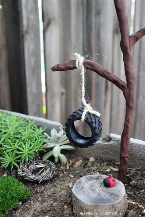 make your own tire swing 1000 ideas about create a fairy on pinterest fairy