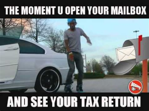 Tax Refund Meme - tax season cars bing images