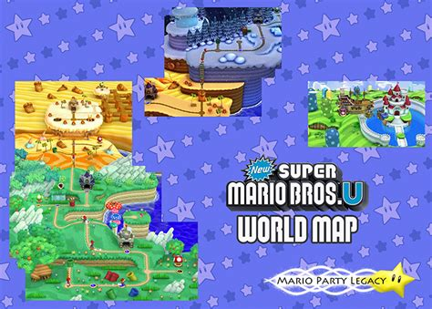 mario world map image new mario bros u world map