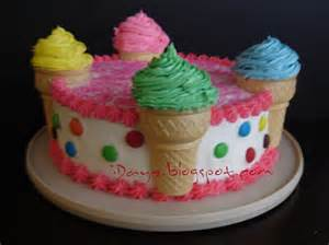 ice cream cakes decoration ideas little birthday cakes