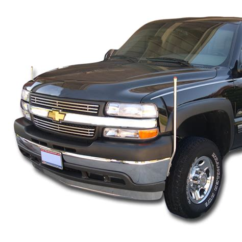 chevy bumper guides 728 511 bores manufacturing inc fits chevrolet silverado 1500 1999