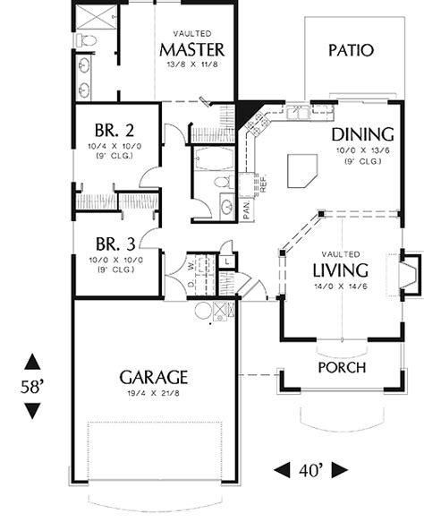 House Eliot House Plan Green Builder House Plans Eliot House Floor Plan